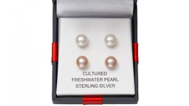 63f59fd8b JCPenney: 2 Pairs Cultured Freshwater Pearl Stud Earrings only $10 ...