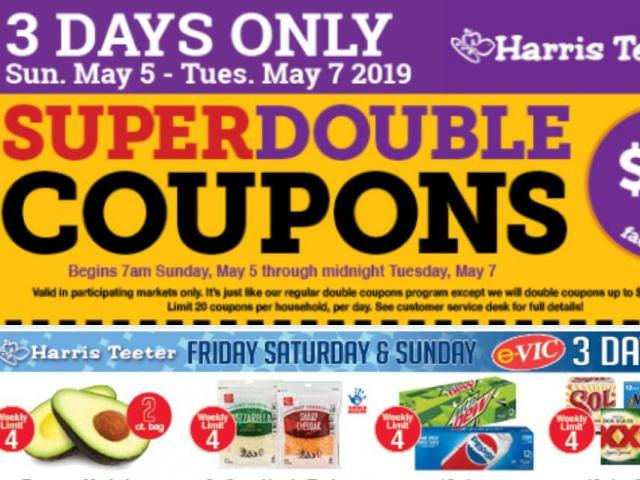 Harris_Teeter_5-3-19_sd-DMID1-5ioodbd1o-640x480 Harris Teeter Super Doubles deals list May 5-7 - WRAL.com