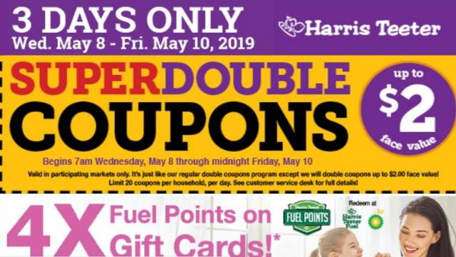 image regarding Scene 75 Printable Coupons called Harris Teeter Tremendous Doubles Proven for May perhaps 8-10 ::