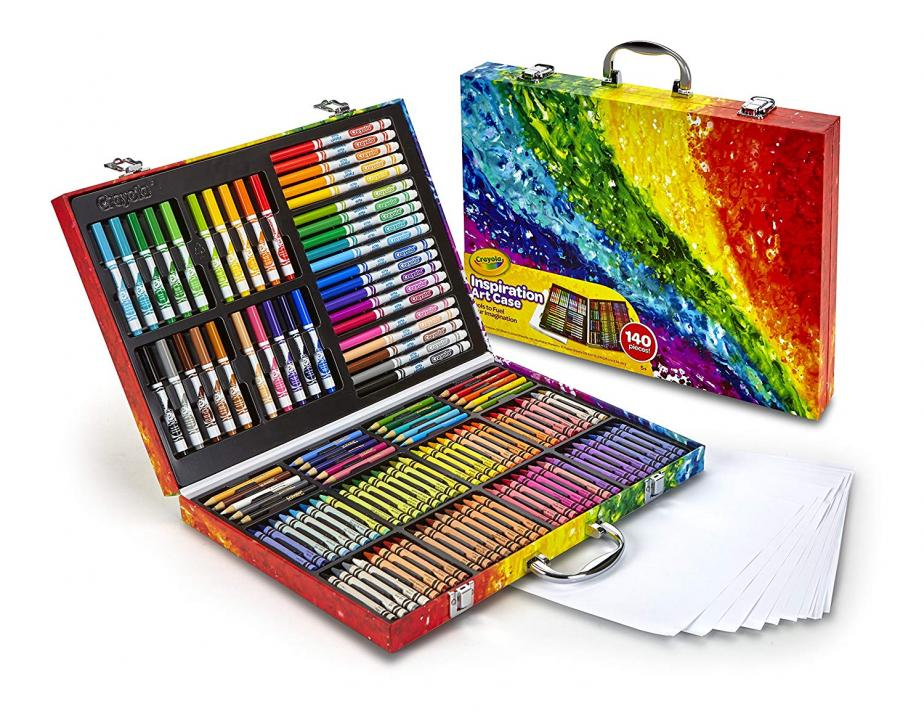 Crayola Inspiration Art Case with 140 Pieces only $15.90 :: WRAL.com