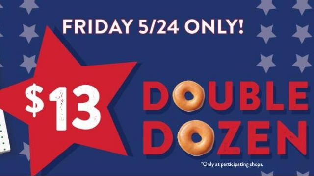 graphic relating to Krispy Kreme Printable Coupons identify Krispy Kreme: $13 for ANY 2 dozen doughnuts Friday, May possibly 24