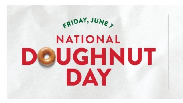 National Doughnut Day Freebies & Deals 2019 Friday, June 7
