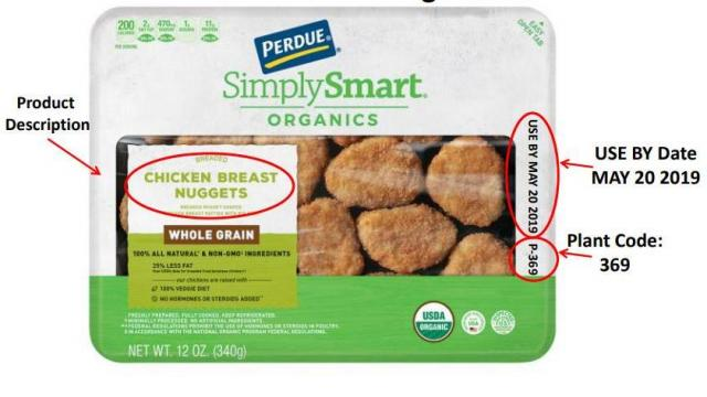Recall: Perdue Simply Smart Chicken Nuggets, Tenders and
