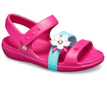 Crocs Kids' Keeley Charm Sandal :: WRAL.com