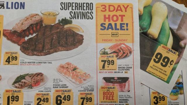 picture relating to Food Lion Printable Coupons titled Meals Lion 3-Working day Sale: Friendlys ice product, Keebler crackers