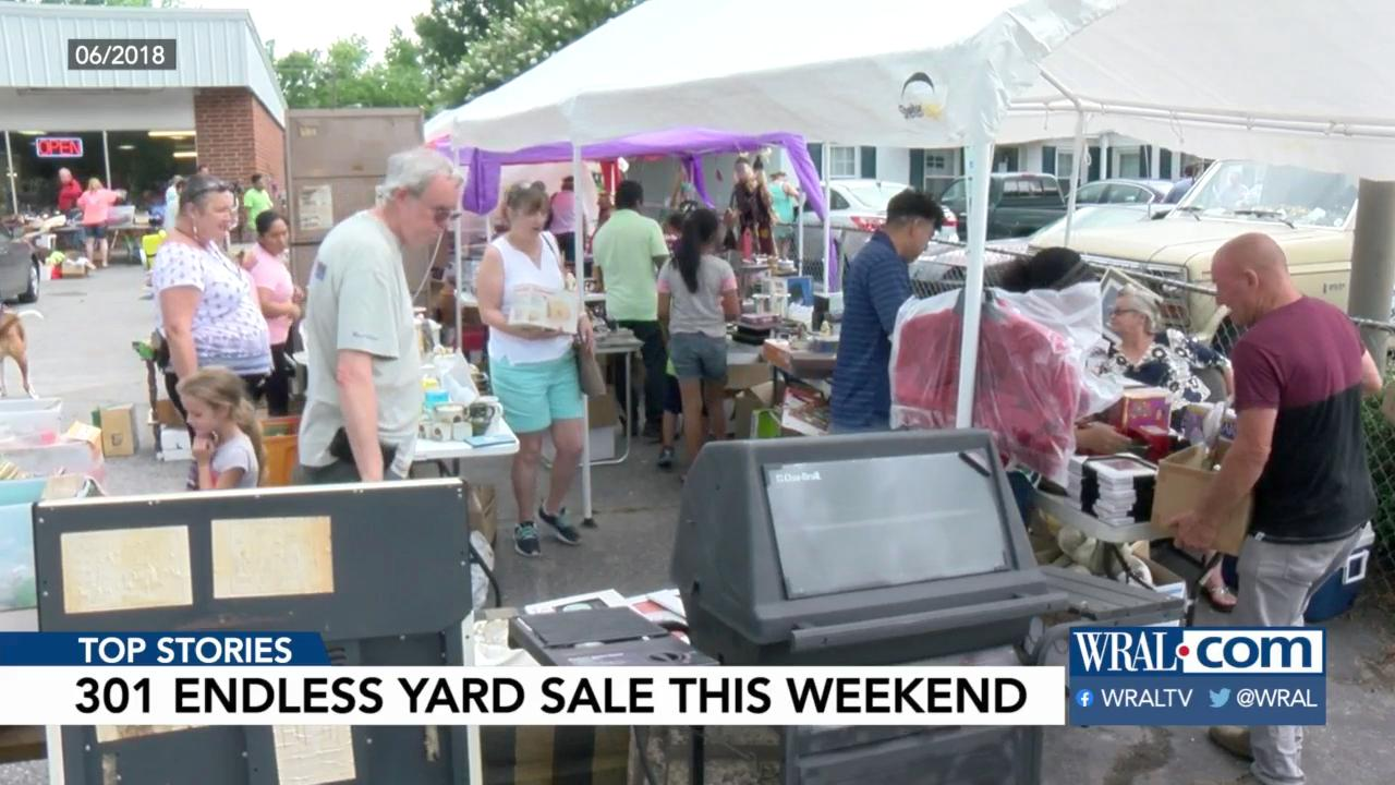 Annual 301 Endless Yard Sale this Friday and Saturday