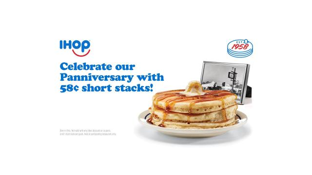 photo relating to Ihop Printable Menu identify IHOP: Pancake Brief Stack just 58 cents upon Tuesday, July 16