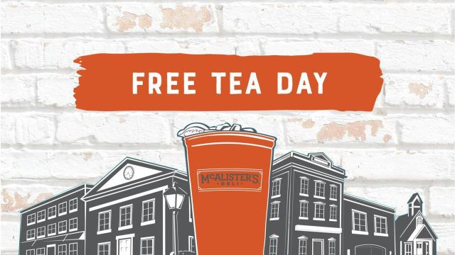image regarding Mcalister's Printable Menu named McAlisters: Absolutely free Tea Working day July 18 ::