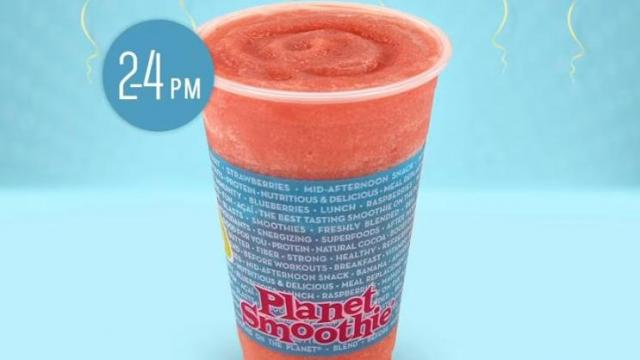 image regarding Smoothie King Printable Coupons named Countrywide Smoothie Working day Freebies Friday, June 21 ::