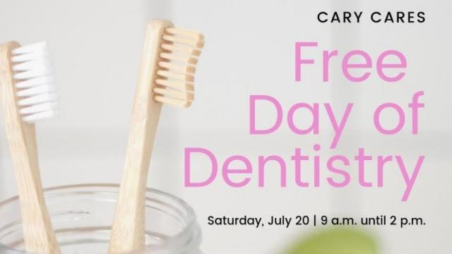 Free dental care for those in need on July 20 in Cary :: WRAL com