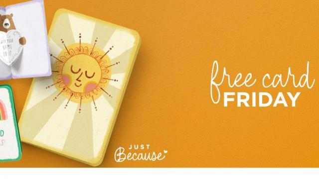 photograph about Hallmark Printable Coupons named Totally free Hallmark card each and every Friday ::