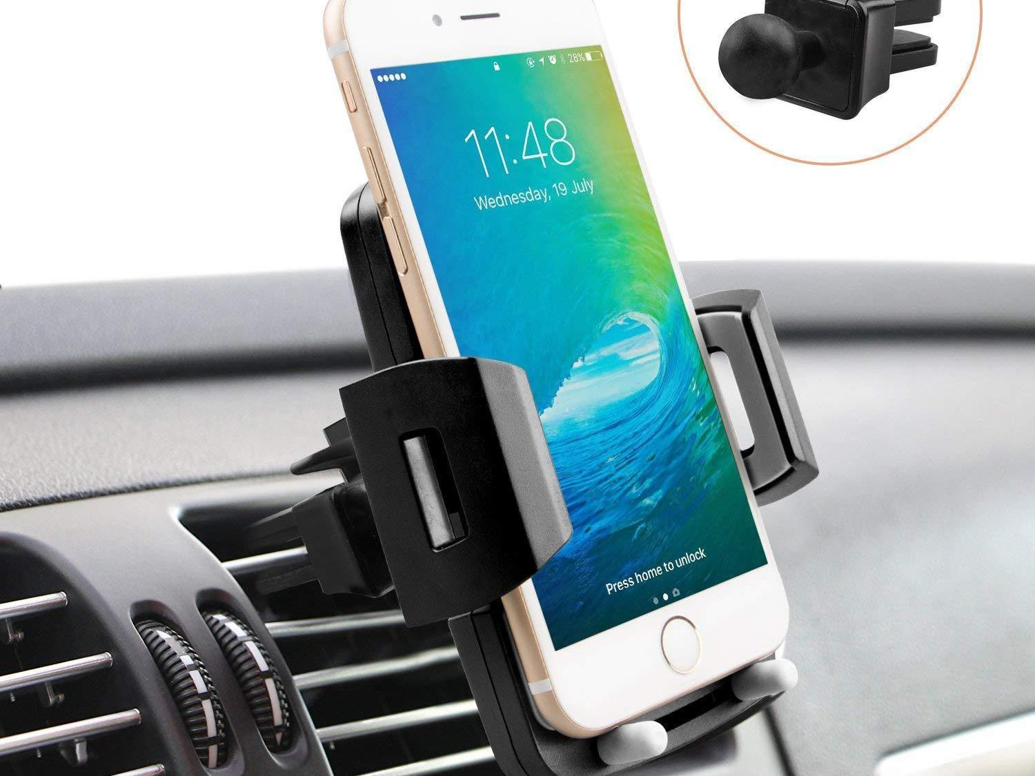 new styles a4036 f3b5d Cell Phone Holder for Car only $6.99 :: WRAL.com
