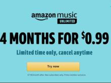 Amazon Music Unlimited Offer