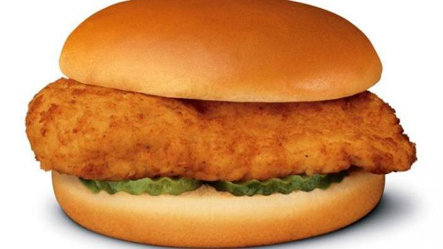 Chick-fil-A Chicken Sandwich (photo courtesy Chick-fil-A)