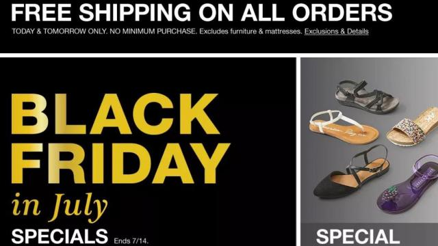 70cf8ef6 Macy's: FREE shipping w/no min. purchase through TODAY + Black ...