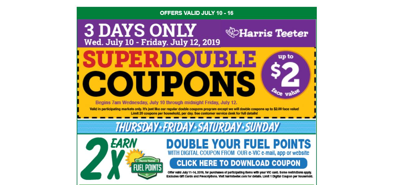 photo regarding Bush's Chicken Coupons Printable named Harris Teeter specials 7/10: Tested Tremendous Doubles, peaches
