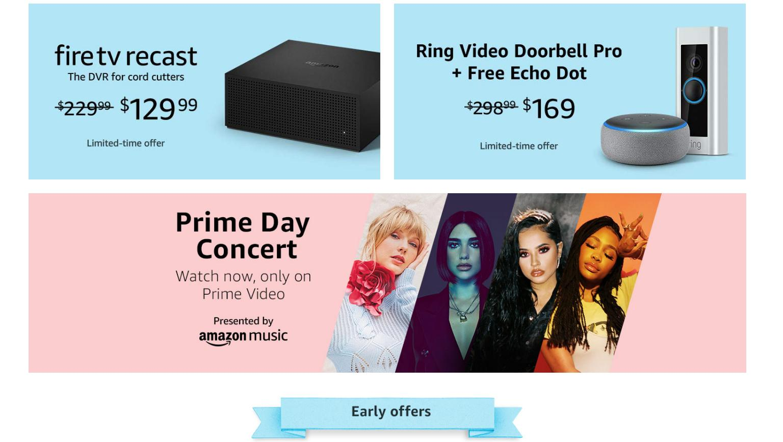 Amazon Early Prime Day Deals available NOW: Echo Dot, Ring Doorbell