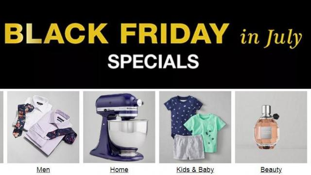 Macy's: Black Friday in July Sale through 7/14 :: WRAL com