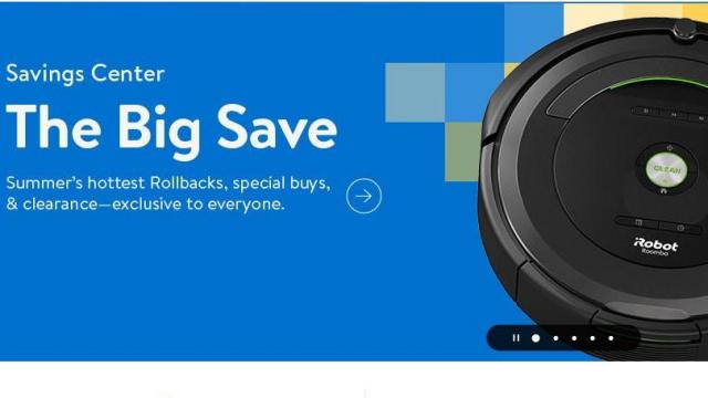 Walmart online event with thousands of special buys now