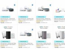 Echo Dot and Hue Smart lighting bundles Prime Day deals