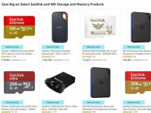 SanDisk and WD Storage and Memory Products Prime Day Sale