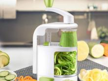 Spiralizer Vegetable Slicer with 4 Blades