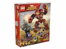 LEGO Marvel Super Heroes Avengers Infinity War The Hulkbuster Smash-Up Building Kit
