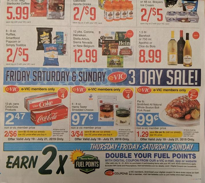 picture relating to Stella and Chewy Printable Coupons identified as Harris Teeter 3-Working day e-Vic Sale during Sunday: Shredded