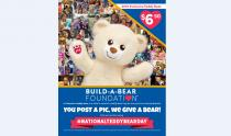 IMAGES: Build-A-Bear offering limited-edition National Teddy Bear Day Bear for only $6.50 Sept. 7-9