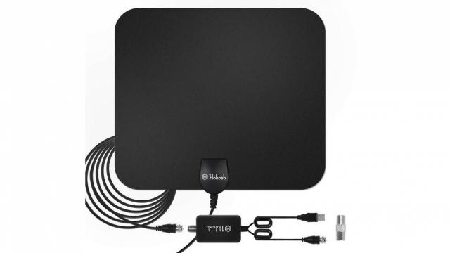 Digital HDTV Antenna with 60+ Mile Range only $15 29 :: WRAL com