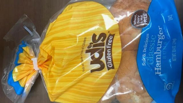 Recall: Udi's Classic Hamburger Buns recalled due to small