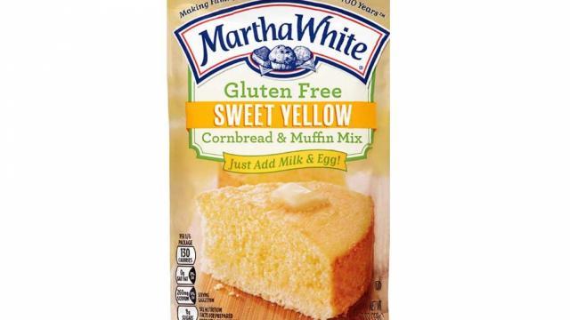 Martha White Gluten Free Sweet Cornbread Muffin Mix (photo courtesy FDA.gov)