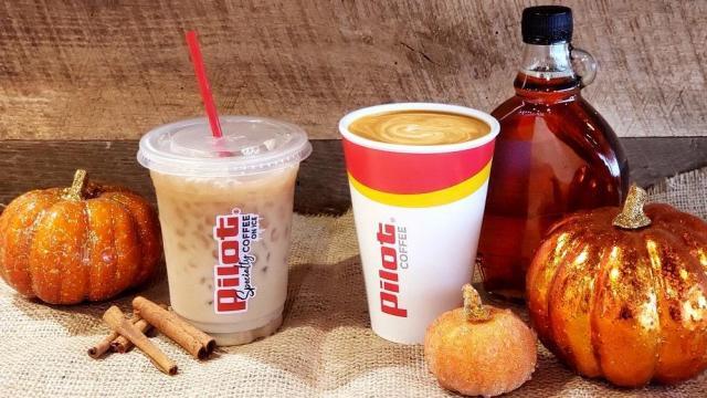 Pilot Flying J Fall Coffee (photo courtesy Pilot Flying J)