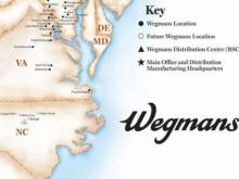 Wegmans map of future NC locations