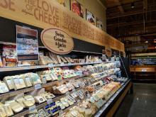 Wegmans wall of cheese