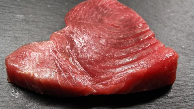 Tuna steak (photo from Max Pixel, maxpixel.net/photo-3886014)