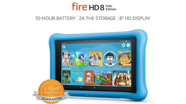 Fire HD 8 Kids Edition Tablet (photo courtesy Amazon)
