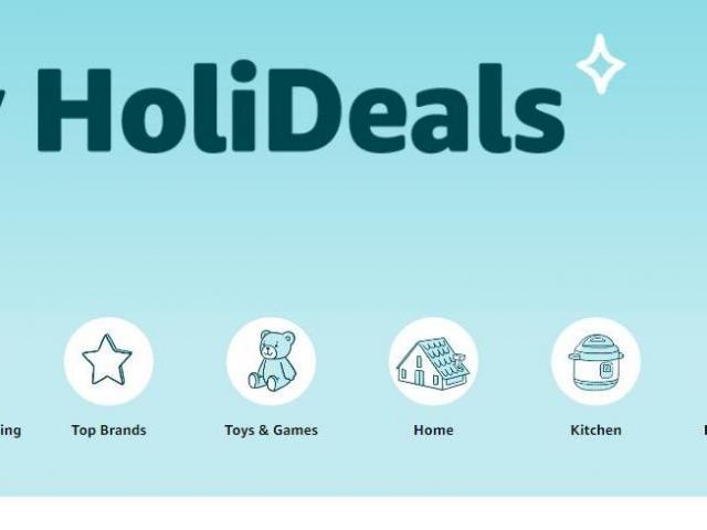 Amazon HoliDeals Sale (photo courtesy Amazon)