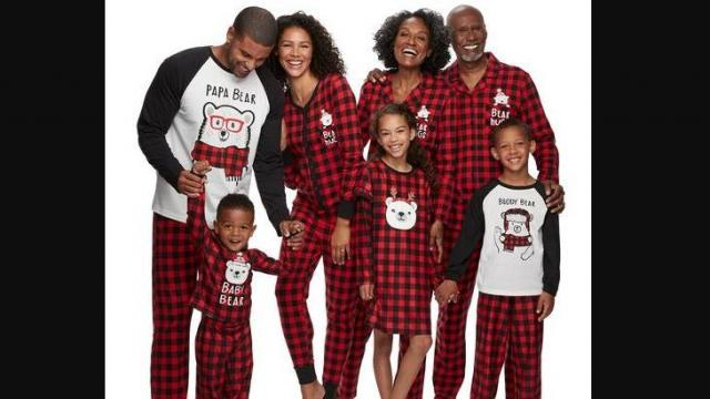 Jammies For Your Families Cool Bear Family Pajamas Collection by Cuddl Duds (photo courtesy Kohl's)