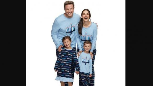 Jammies For Your Families Hanukkah Family Pajamas Collection