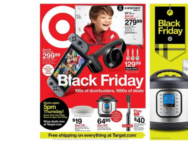 Target Black Friday Ad 2019 Posted Preview Sale On Nov 8 9 With Doorbusters Wral Com