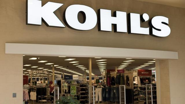 Christiansburg, VA/USA March 23, 2019 A Kohl's department store in the New River Valley Mall in Christiansburg, VA. Kohl's sales clothing for the whole family as well as home goods. (LisaCarter / Shutterstock.com)