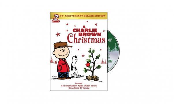Charlie Brown DVD du 50e anniversaire de Noël édition de luxe