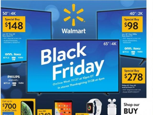 Walmart Black Friday Ad 2019 Has Dropped And Some Deals Are Available Now Wral Com