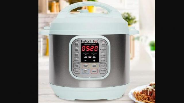 Instant Pot Duo60 6-qt. 7-in-1 Programmable Pressure Cooker (photo courtesy Kohl's)