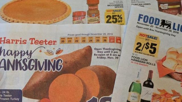 grocery stores open on thanksgiving - photo #34