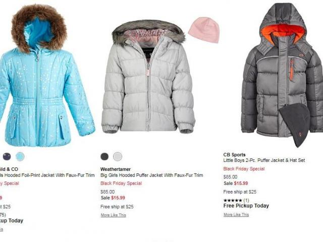 Kids Puffer Jackets 15 99 Reg 85 With Macy S Early Black Friday Sale Wral Com