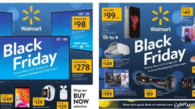 Top 10 Walmart Black Friday Deals Wral Com