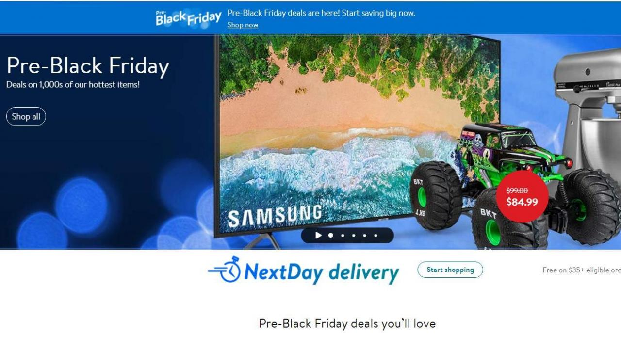 Walmart Pre Black Friday Sale With 1 000s Of Deals Available Now Wral Com