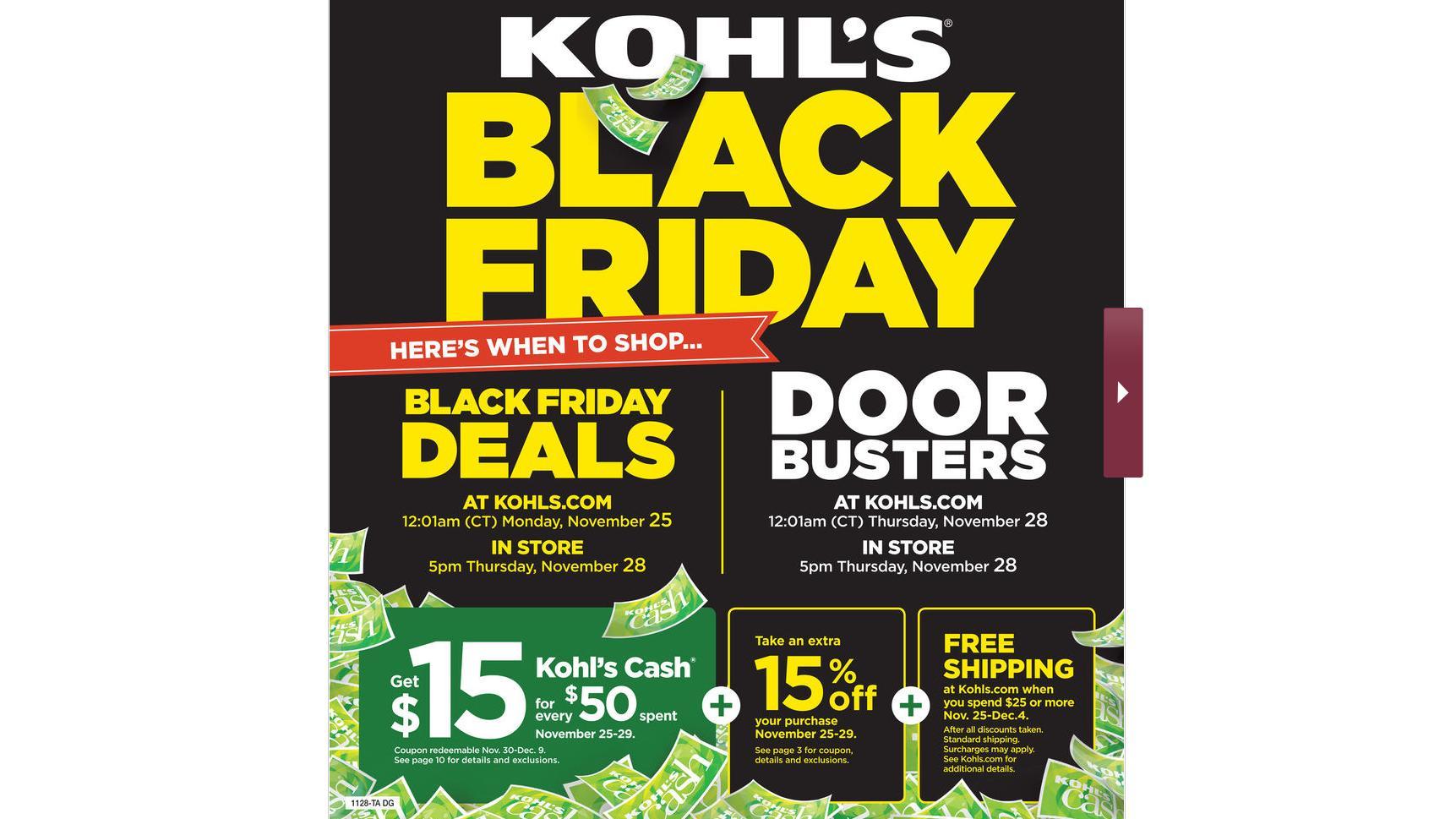 Kohl's Black Friday sales through 11/29 :: WRAL com